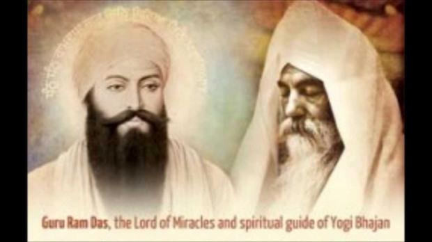 Guru Ram Das with YogiJi